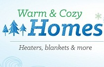 Warm & Cozy Homes- Deals on Winter Selection