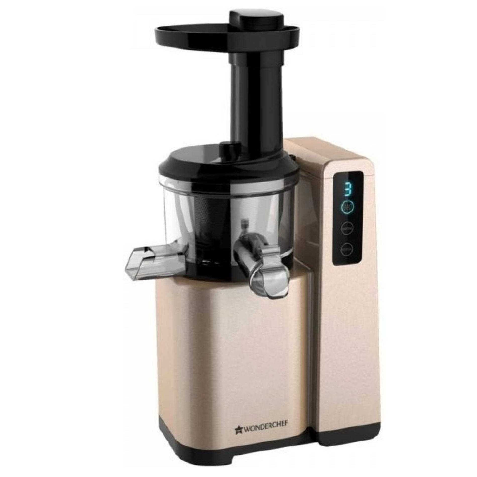 Wonderchef Cold Press Slow Juicer Digital Review : Wonderchef H6001 150 W Juicer Price in India 14 Feb 2017