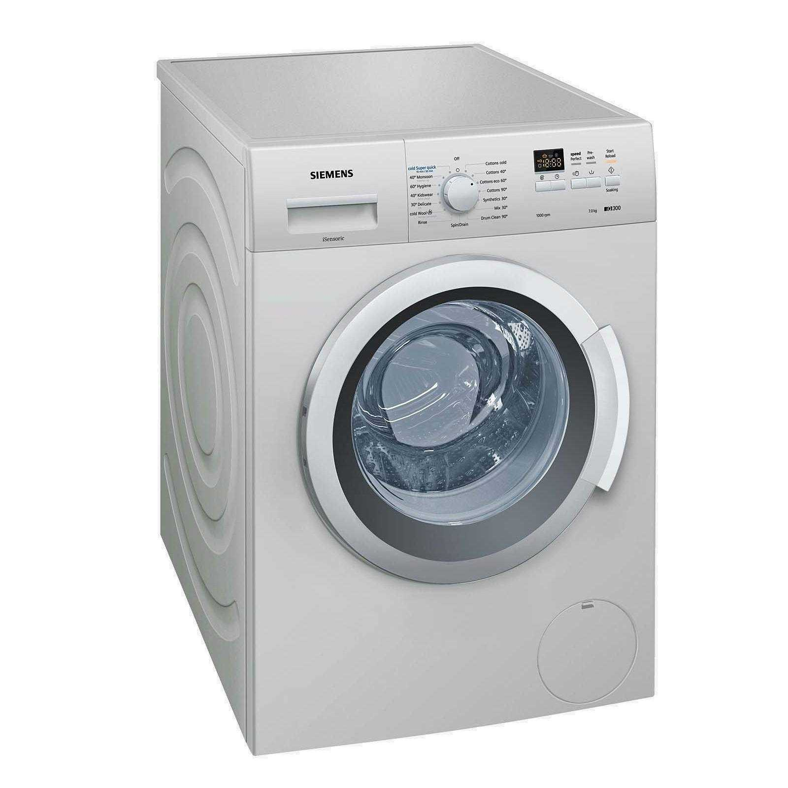 washing machine price list